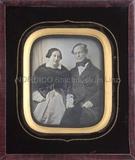 Visualizza Porträt eines unbekannten älteren Ehepaares, … anteprime su
