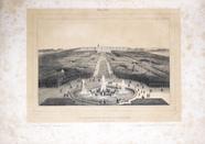 Visualizza Vue du Parc et du Chateau de Versailles. Pris… anteprime su