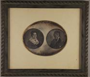 Visualizza Eine Daguerreotypie von zwei Gemälden. anteprime su
