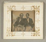 Thumbnail preview of Zwei befreundete Männer mit (schwarzrotgolden…