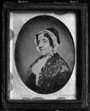 Visualizza A head and shoulders portrait of a woman, Mar… anteprime su