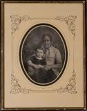 Miniaturansicht Vorschau von Bruno Stelzner (1851-1874) mit seiner Kinderf…