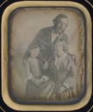 Visualizza Portrait d'un couple et d'une fillette (famil… anteprime su
