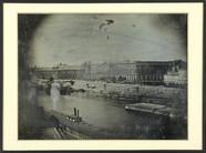 Thumbnail preview of La |Seine et le Louvre, vus du Pont-Neuf