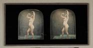 Miniaturansicht Vorschau von Frauenakt, ganze Figur, in ausdrucksvoller Ta…
