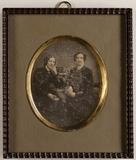Thumbnail preview of Zwei unbekannte Frauen, wahrscheinlich Schwes…