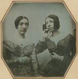 Visualizza Portrait de deux femmes anteprime su