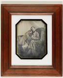 Miniaturansicht Vorschau von Portret van een man in een kamerjas