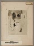 Visualizza Romantische venezianische Szene, 1843, Druck … anteprime su