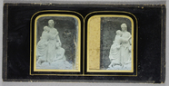 Thumbnail preview of Classical sculpture of three women, possibly …