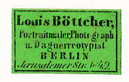 Thumbnail preview of Etikett von Louis Böttcher
