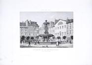 Visualizza Fontaine de la Place Louvois. Prise au Daguer… anteprime su