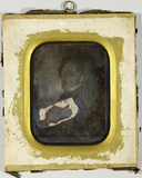 Visualizza Gemäldereproduktion eines Mannes, Brustbild. anteprime su