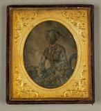 Visualizza Bildnis einer älteren Dame in gemustertem Kle… anteprime su