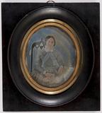 Visualizza Portret van een vrouw, zittend op een stoel m… anteprime su