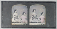 Visualizza Mother and daughter. Hand tinted. The mother … anteprime su