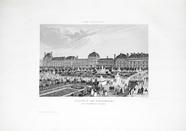 Visualizza Château des Tuileries. Côté du Jardin, Paris.… anteprime su