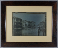 Visualizza A view in Venice of the Grand Canal showing t… anteprime su
