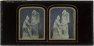Visualizza Stereo picture of statue, The vision of the R… anteprime su