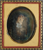 Visualizza Porträt einer jungen Frau. Starke Silberkorro… anteprime su