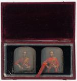 Visualizza Portrett av Sir John Campbell i en rød offise… anteprime su