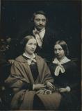 Thumbnail preview of Hermann Krone mit zwei jungen Frauen