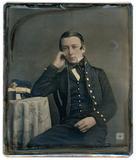 Visualizza Half length portrait of a seated man, a Briti… anteprime su