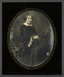 Miniaturansicht Vorschau von Portrait de femme , à mi-jambes, debout, de t…