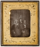 Thumbnail preview of Mary Ann Krüß, geb. Gabory (1795-1858) mit ih…