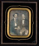 Visualizza Portrait of two young men. anteprime su