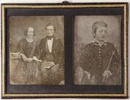 Miniaturansicht Vorschau von Ein unbekanntes Paar / Ein Junge mit Halstuch