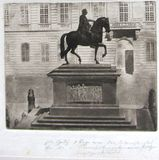 Visualizza Equestrian sculpture, Joseph II memorial, Jos… anteprime su