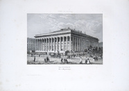 Visualizza La Bourse, Paris. planche no 14, Publié par C… anteprime su