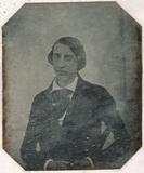 Thumbnail preview of Bildnis eines jungen Mannes, halbe Figur, sit…