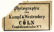 Visualizza Etikett von Kampf & Westendorp anteprime su
