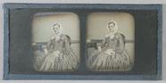 Visualizza Three-quarter length portrait of a seated wom… anteprime su