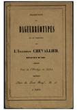Thumbnail preview of Description des Daguerréotypes qui se fabriqu…