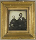 Thumbnail preview of Ein Mann und eine Frau in schwarzer Trauerkle…