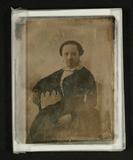 Visualizza Bildnis einer sitzenden jungen Dame, um 1850.… anteprime su