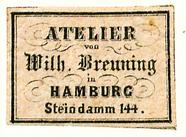 Visualizza Etikett von Wilhelm Breuning anteprime su
