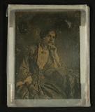 Visualizza Bildnis einer Dame, Dreiviertelfigur, an eine… anteprime su