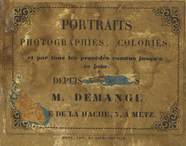 Thumbnail preview of photographer label of Demange, Metz, France