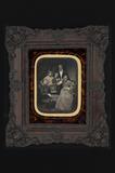 Visualizza family portrait with 6 persons; one elder lad… anteprime su
