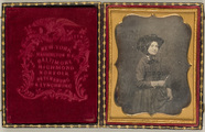 Miniaturansicht Vorschau von Portrait of a woman holding a stick (riding c…