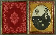 Visualizza Paar, USA, ca. 1850. anteprime su