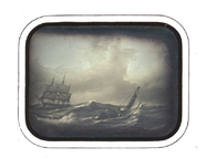 Visualizza Reproduction of a painting, Seascape, storm anteprime su
