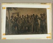 Thumbnail preview of Große Gruppe einer Versammlung junger Männer,…