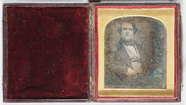 Thumbnail af Half-length portrait of a well-dressed young …