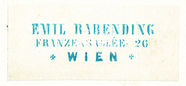 Visualizza Etikett von Emil Rabending anteprime su