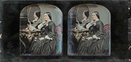 Thumbnail preview of Portrait of woman before a dresser with mirro…